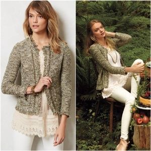 Anthropologie Fringed Eliot Cardigan